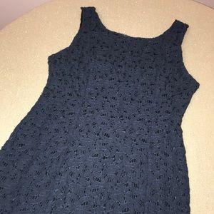 Heart cotton lace dress